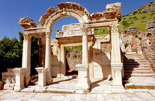 The Ancient City Ephesus, Ephesus the Celsius Library