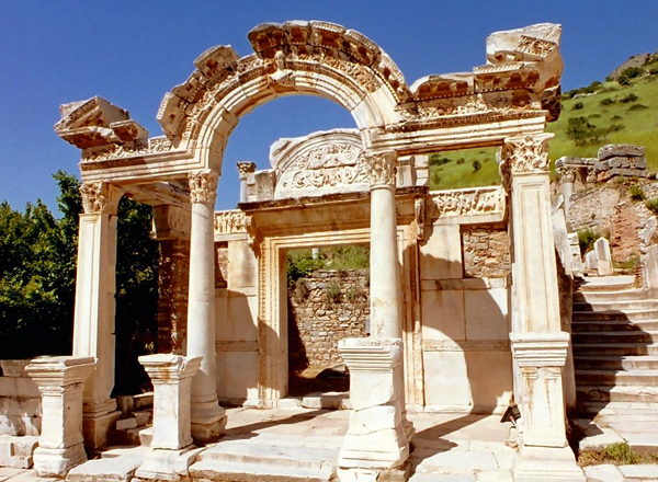The Hadrian Temple of Ephesus Ruine