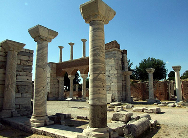 Ephesus Saint John Basilica Biblical Places
